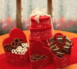 Chocolate pack for valentine day gift
