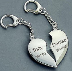 key chain for valentine day gift