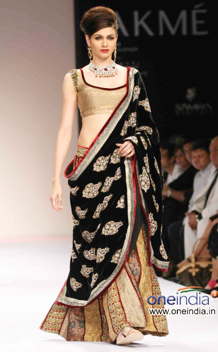 Bridal lehenga Lakme fashion week 2010