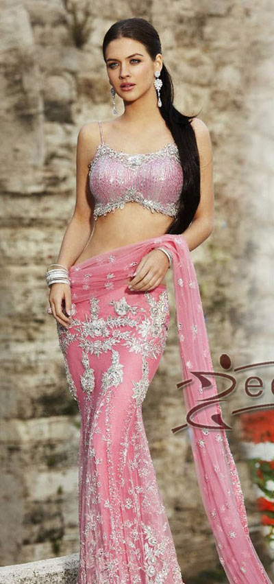Pretty Pink Saree