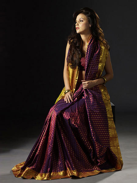 Kanjivaram Saree India