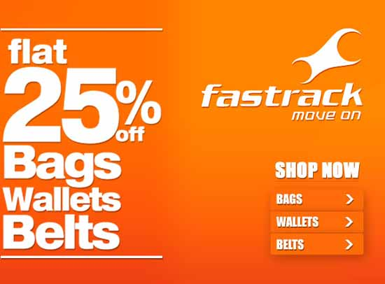 fastrack-at 25% discount
