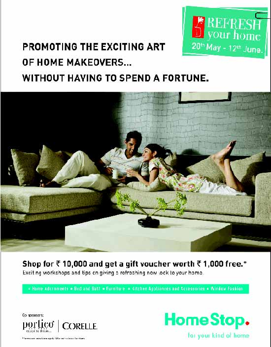 home-stop- refresh your home offer till 12 June 2011
