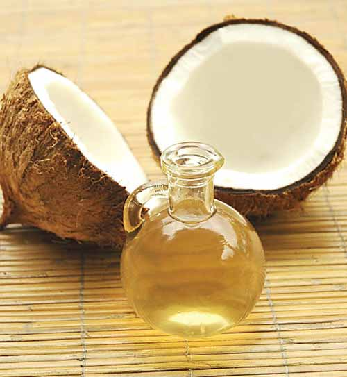 coconut oil for skin rashes and itching