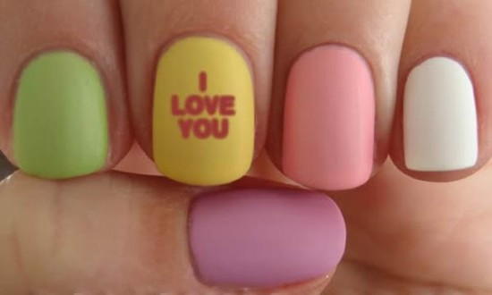 Easy Two Color Nail Designs Best Nail Designs 2018