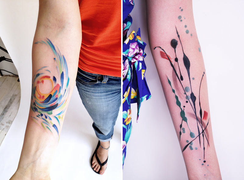 Tattoos With Modern