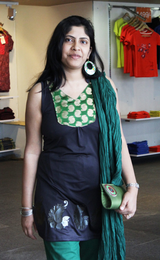 mother-earth_green kurti