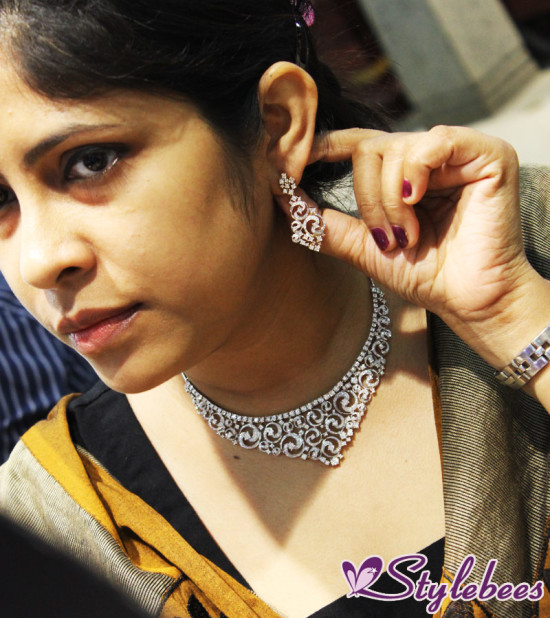 Tanishq Inara diamond jewelry