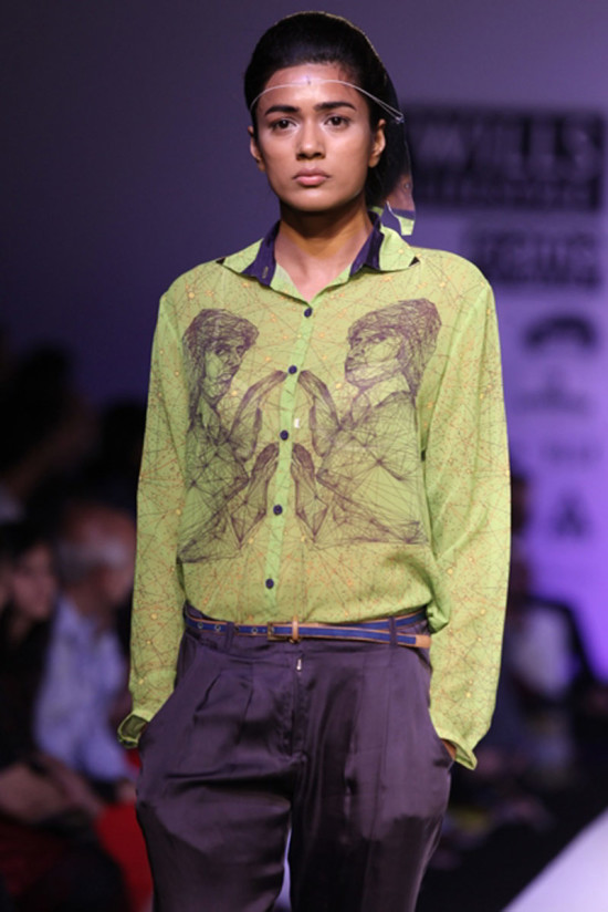 nida-mahmood-bombay-bioscope in wills india fashion week ss14
