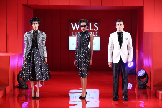 polka-in-black-and-white in wills india fashion week ss14