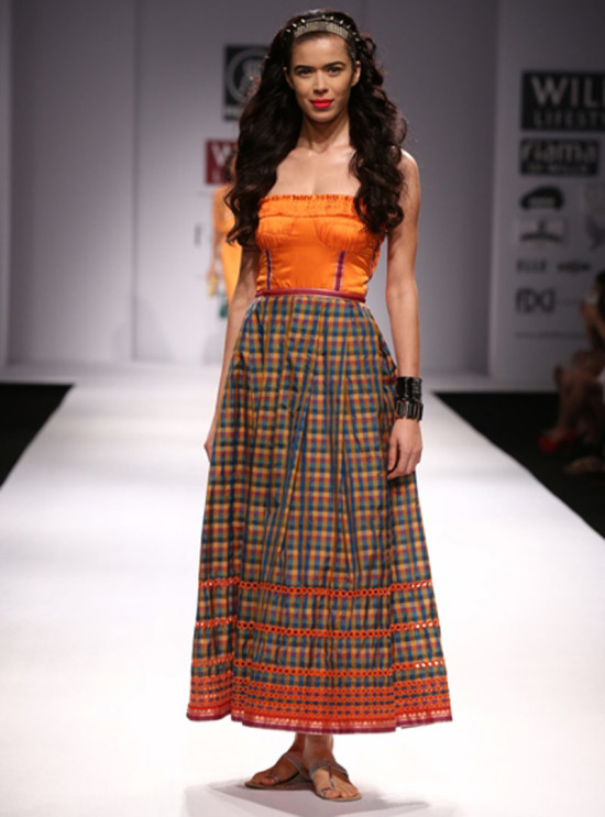 rehane in will india fashion week ss14