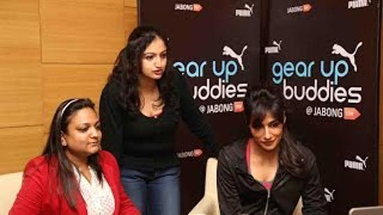 Chitrangada Singh for gear up buddy