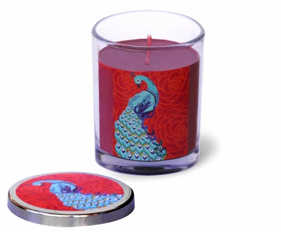 peacock-candle-in-glass-jar
