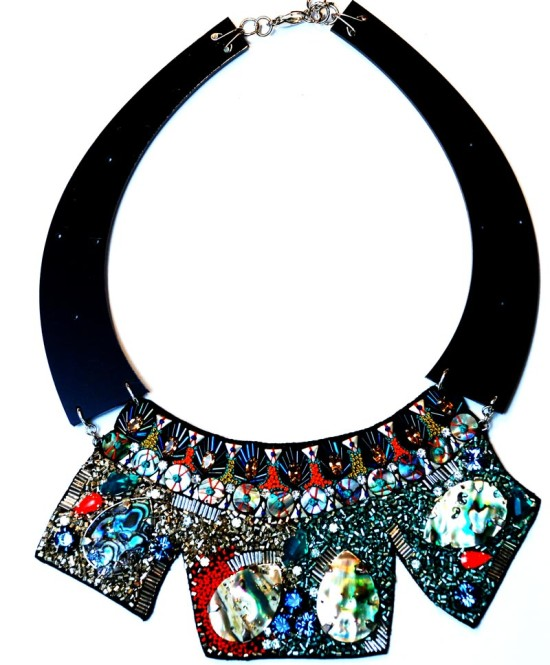 Dynamite statement necklace