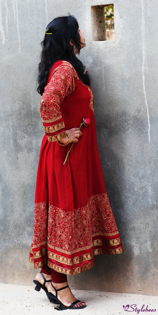 lucknow chikan suit