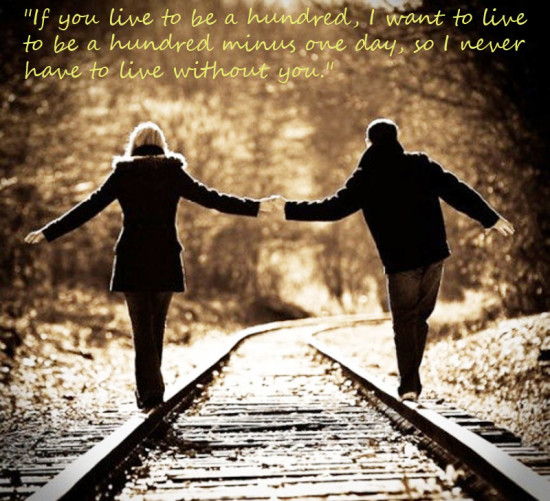 walking together always love quote