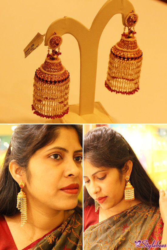 Jhumka design by kalyan jewellers