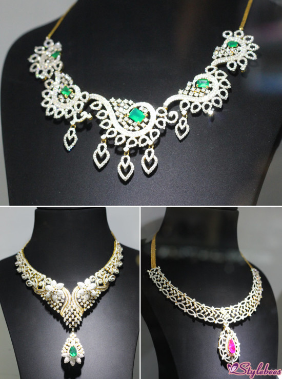 diamond jewellery collection by kalyan jewelers