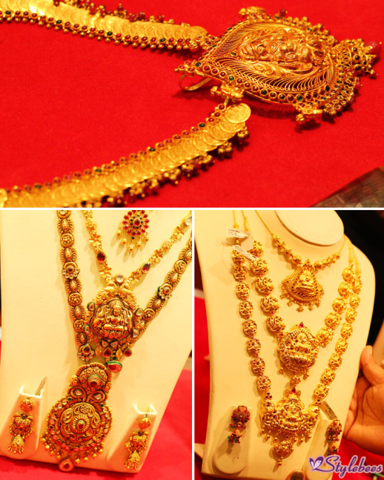 temple jewellery collection by Kalyan Jewellers